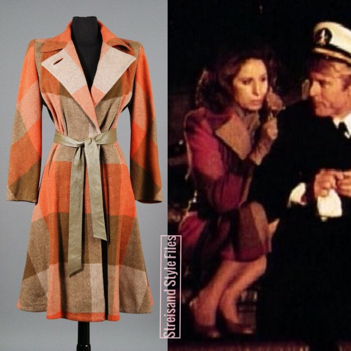 The Way We Were Wool Trench Coat