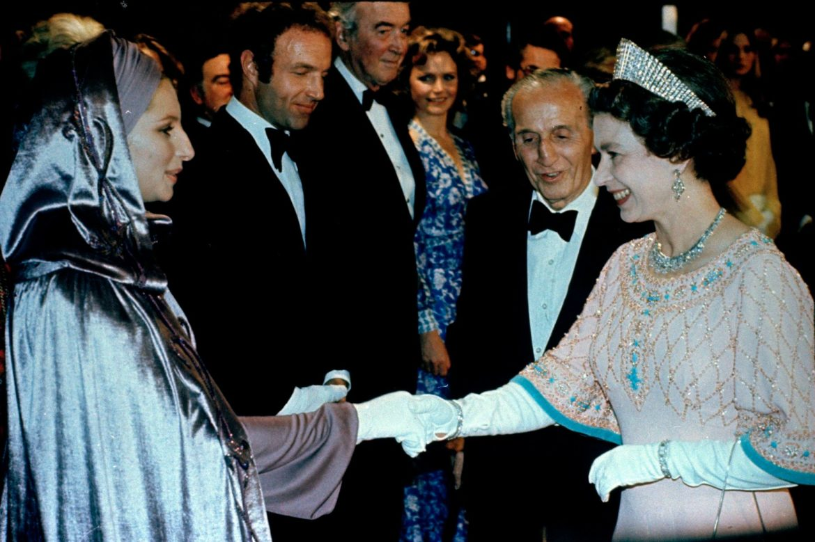 Barbra Meets The Queen