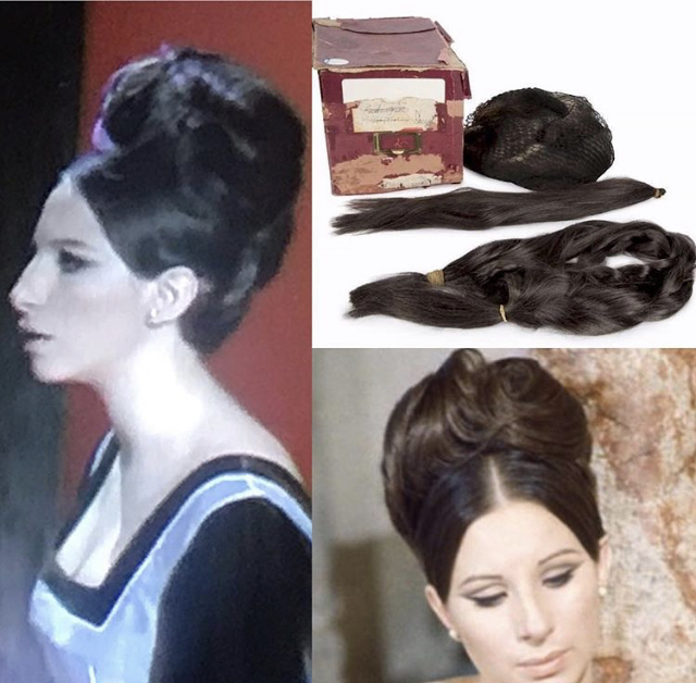 Color Me Barbra Max Factor Custom Hair Pieces