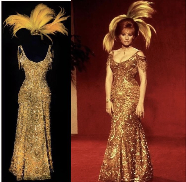 Irene Sharaff Hello Dolly Gold Gown