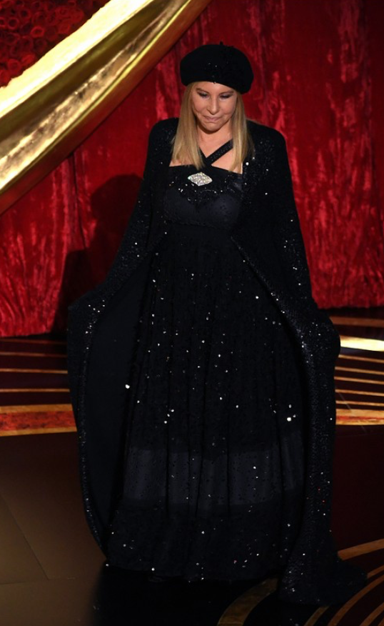2019 Oscars In Chanel And Donna Karan