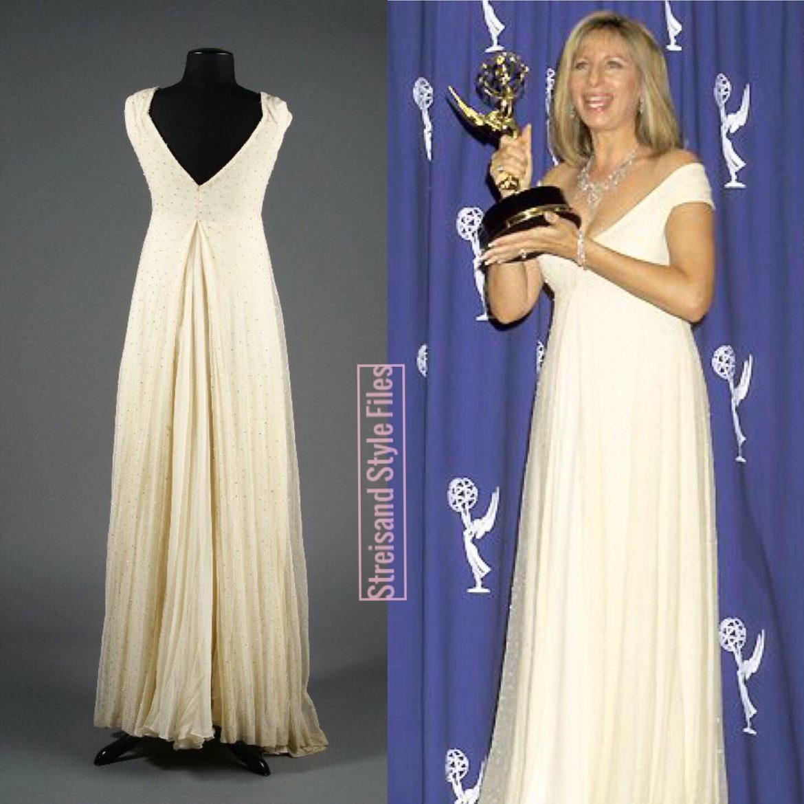 1995 Emmy Awards Donna Karan Gown