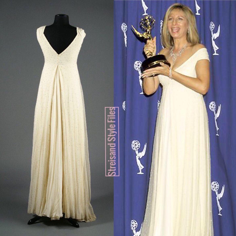 1995 Emmy Awards Donna Karan Gown