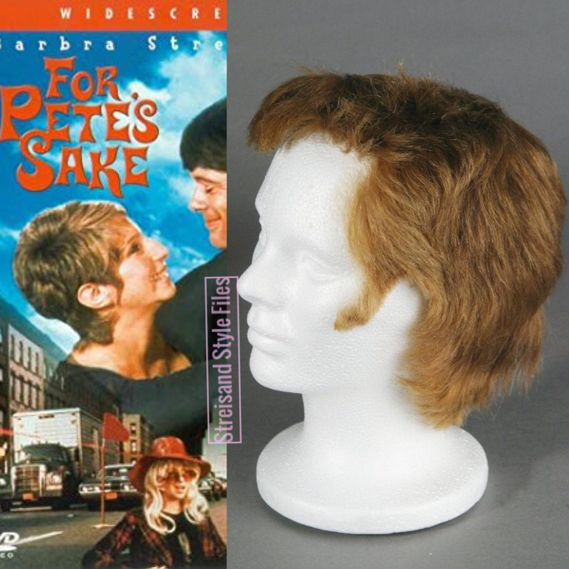 For Pete's Sake Jon Peters Wig