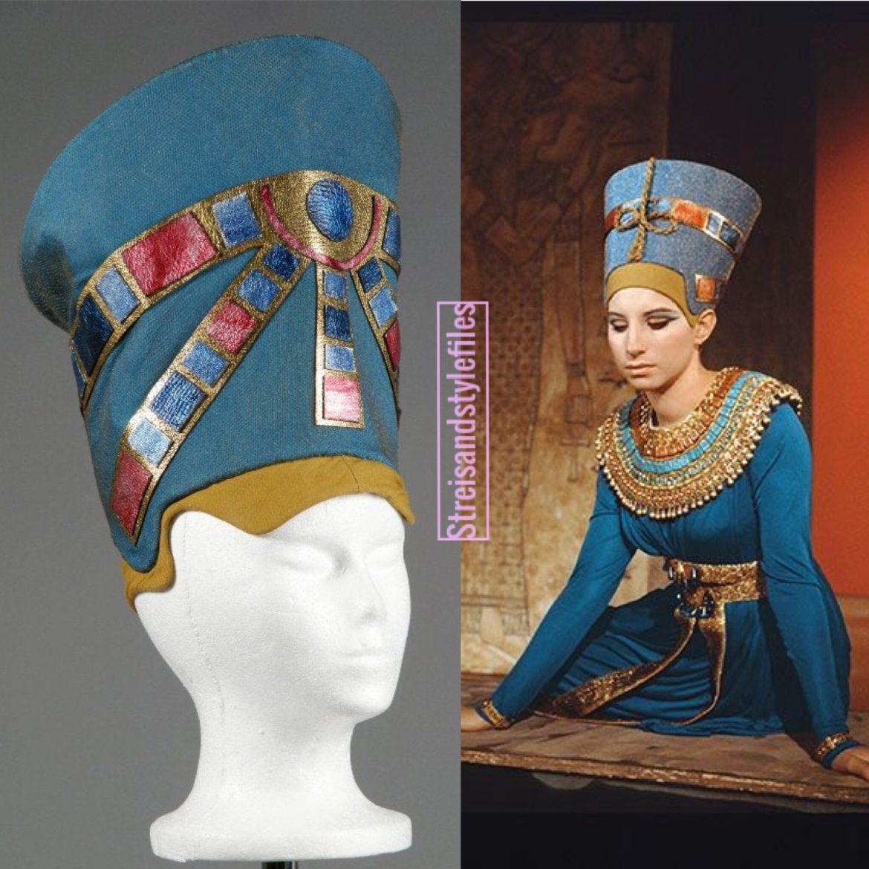 Color Me Barbra Nefertiti Cap Crown