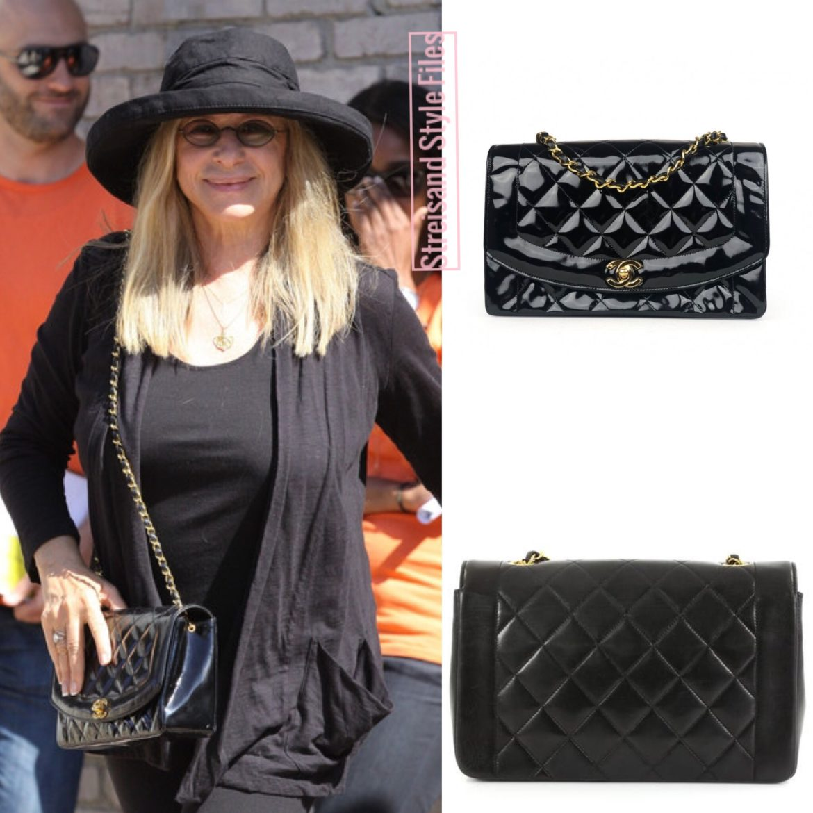 May, 2012 With A Vintage Chanel Diana Bag