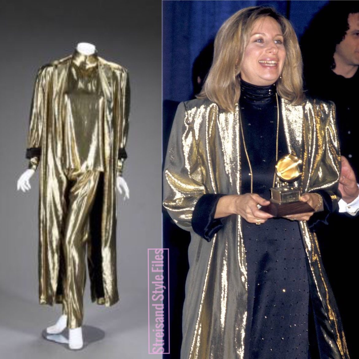 1987 Grammy Awards In Christian Dior