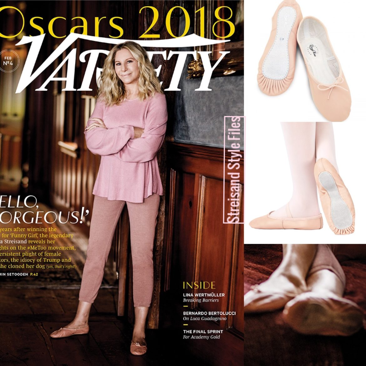 2018 Variety Magazine In Ballet Slippers