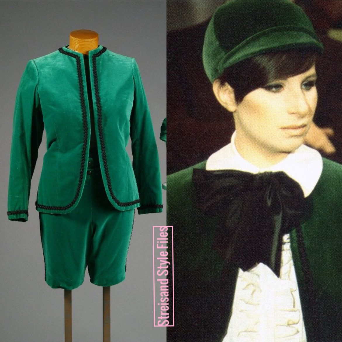 "The Belle Of 14th Street ""Little Lord Fauntleroy"" Green Suit"