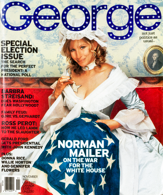 As Betsy Ross On George Magazine