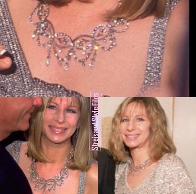 Barbra's Vintage Fabergé Diamond Necklace