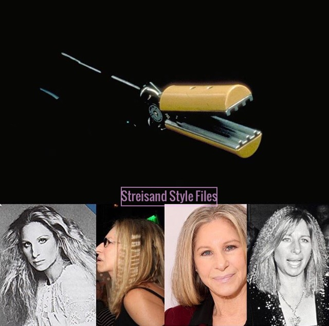 How Barbra Streisand Inspired The Invention Of The Crimping Iron