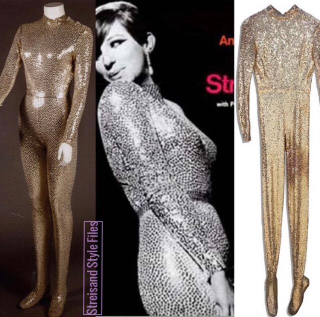 Color Me Barbra Gold Norman Norell Bodysuit