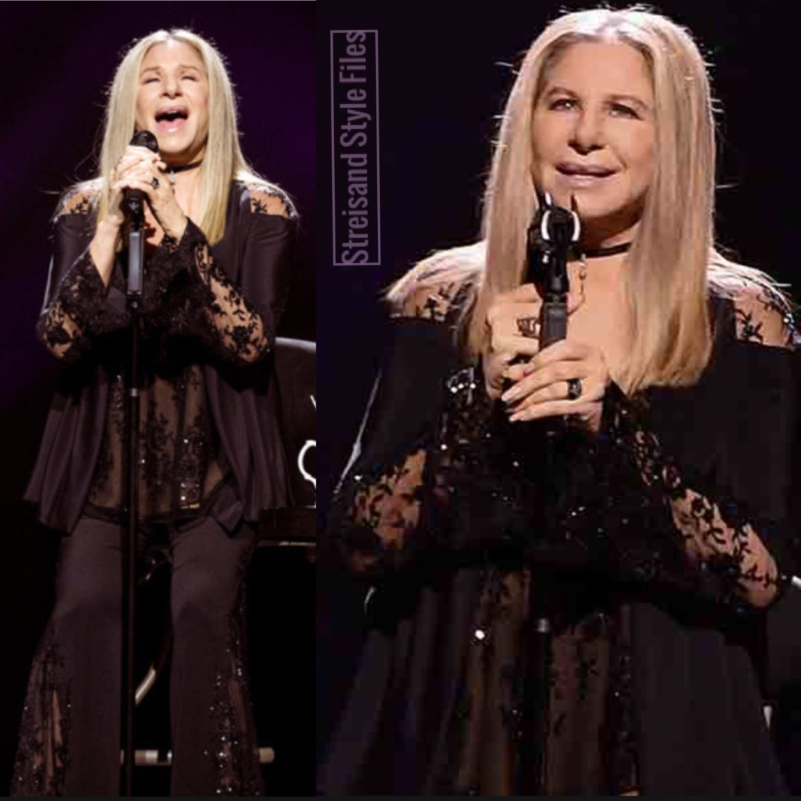 """Act One Of """"The Music, The Mem'ries, The Magic Tour In Donna Karan"""