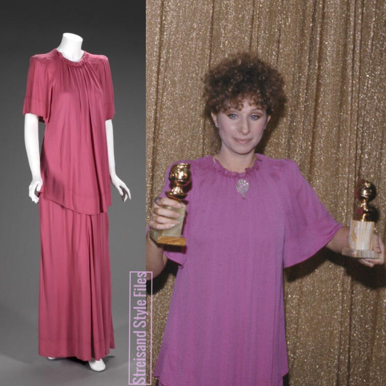 1977 Golden Globes In Jean Muir