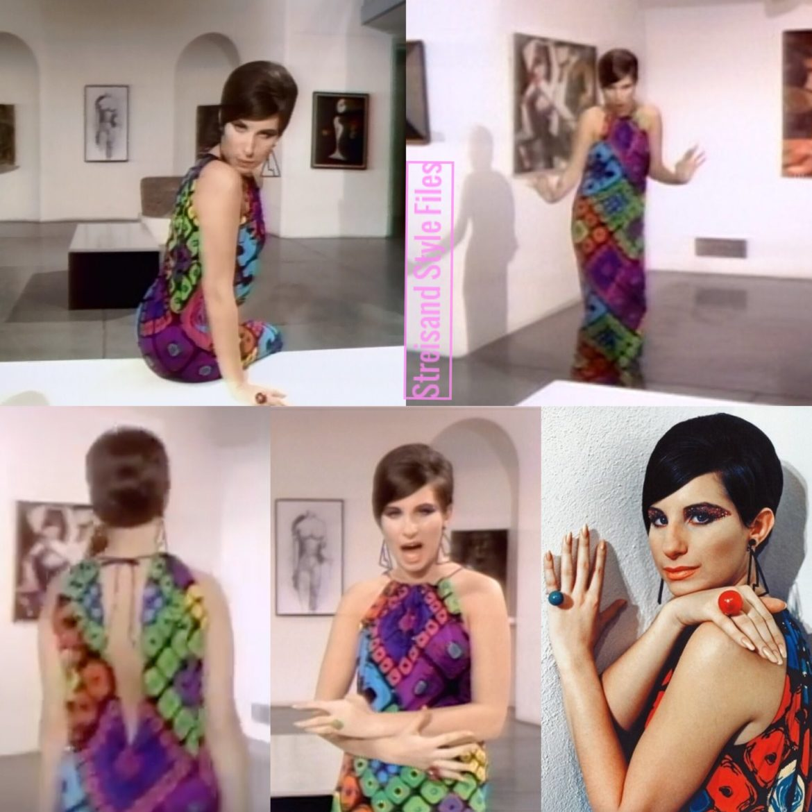 "Color Me Barbra ""Gotta Move"" dress by Ken Scott"