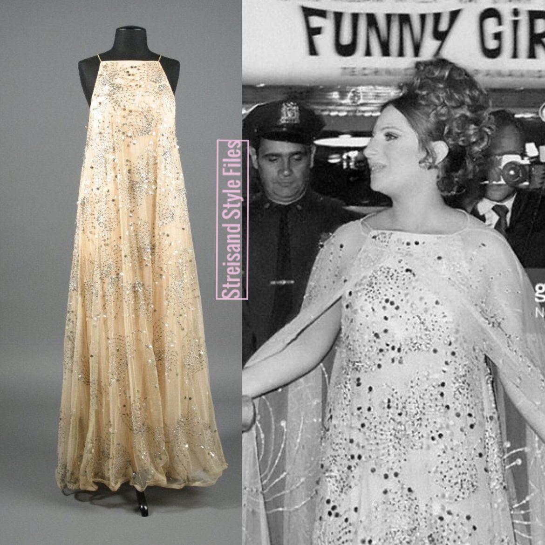 1968 New York Funny Girl Premiere In Scaasi