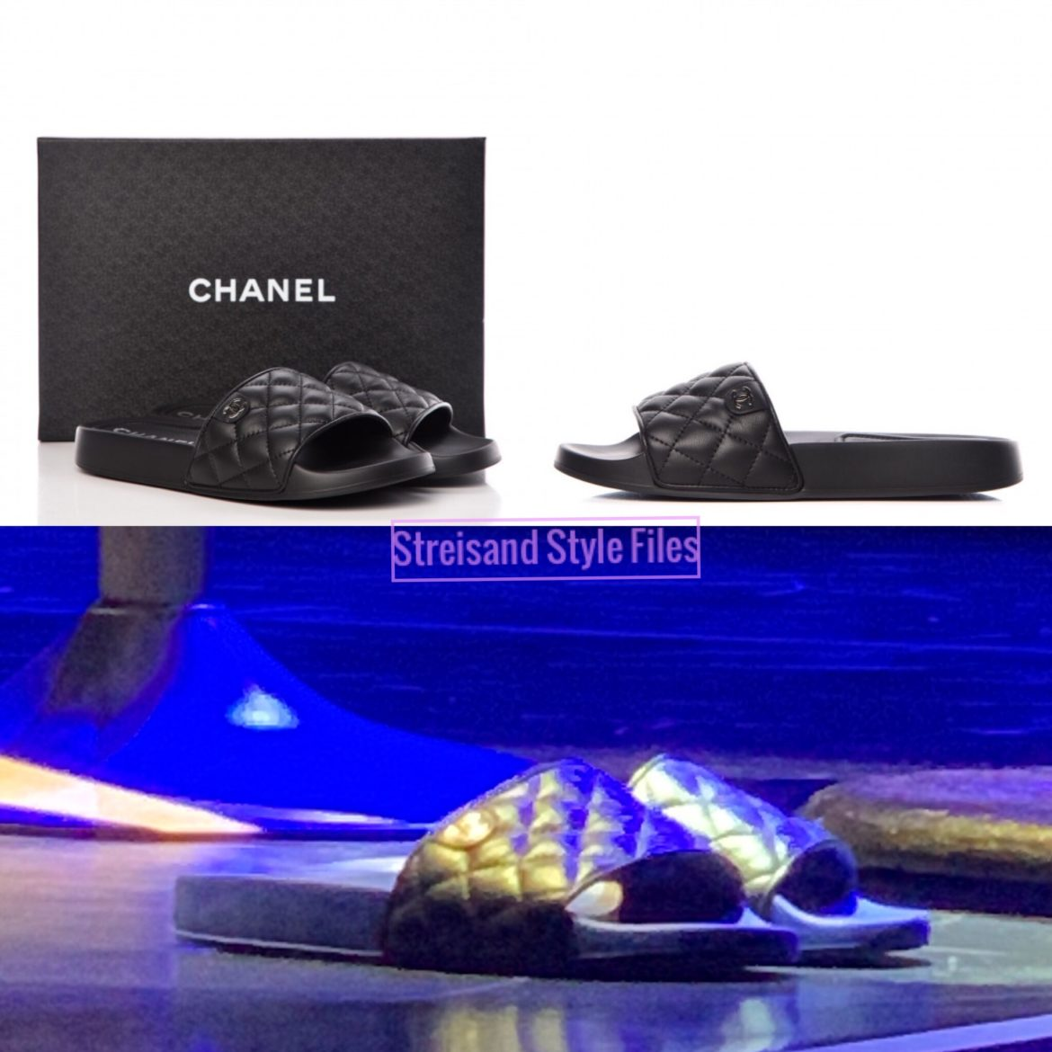 Chanel Sandals At Madison Square Garden 2019