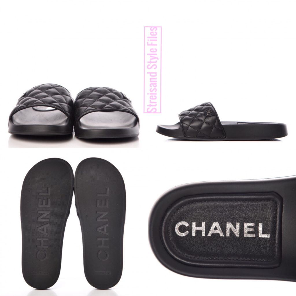 Chanel Sandals At Madison Square Garden