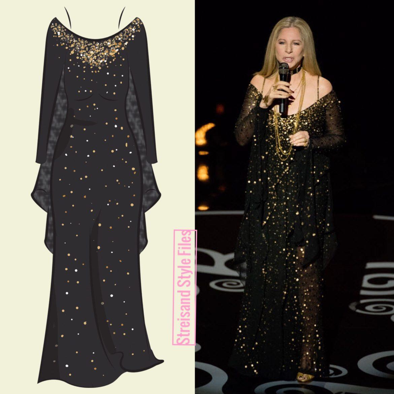 2013 Oscars In Custom Donna Karan