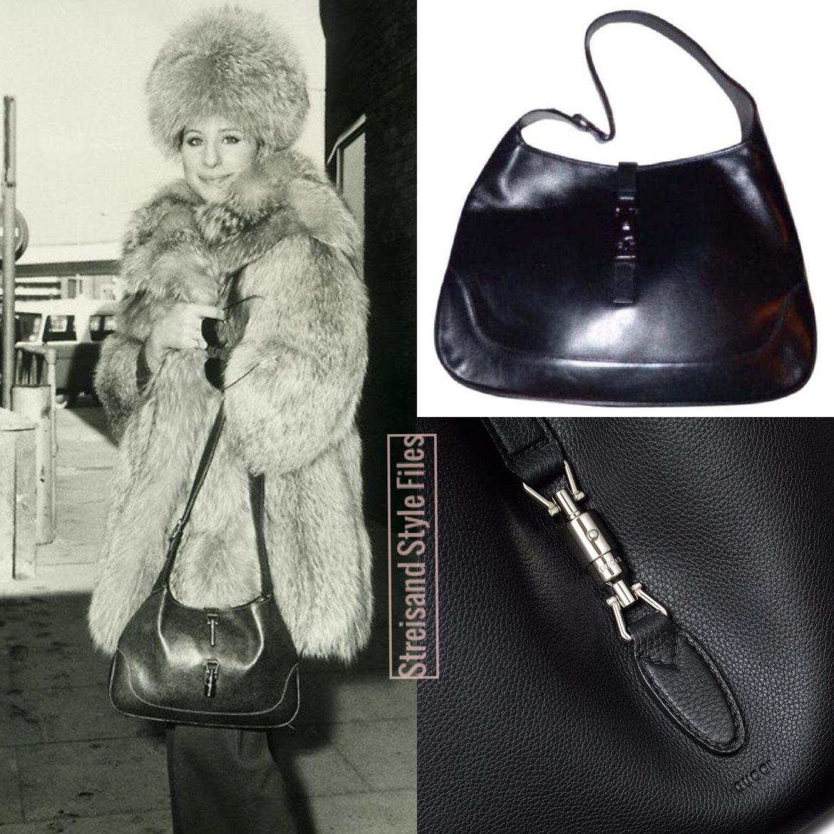 Barbra's Gucci Jackie Bag
