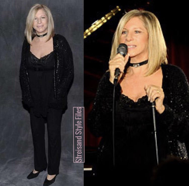 Barbra In Donna Karan At The Village Vanguard, 2009