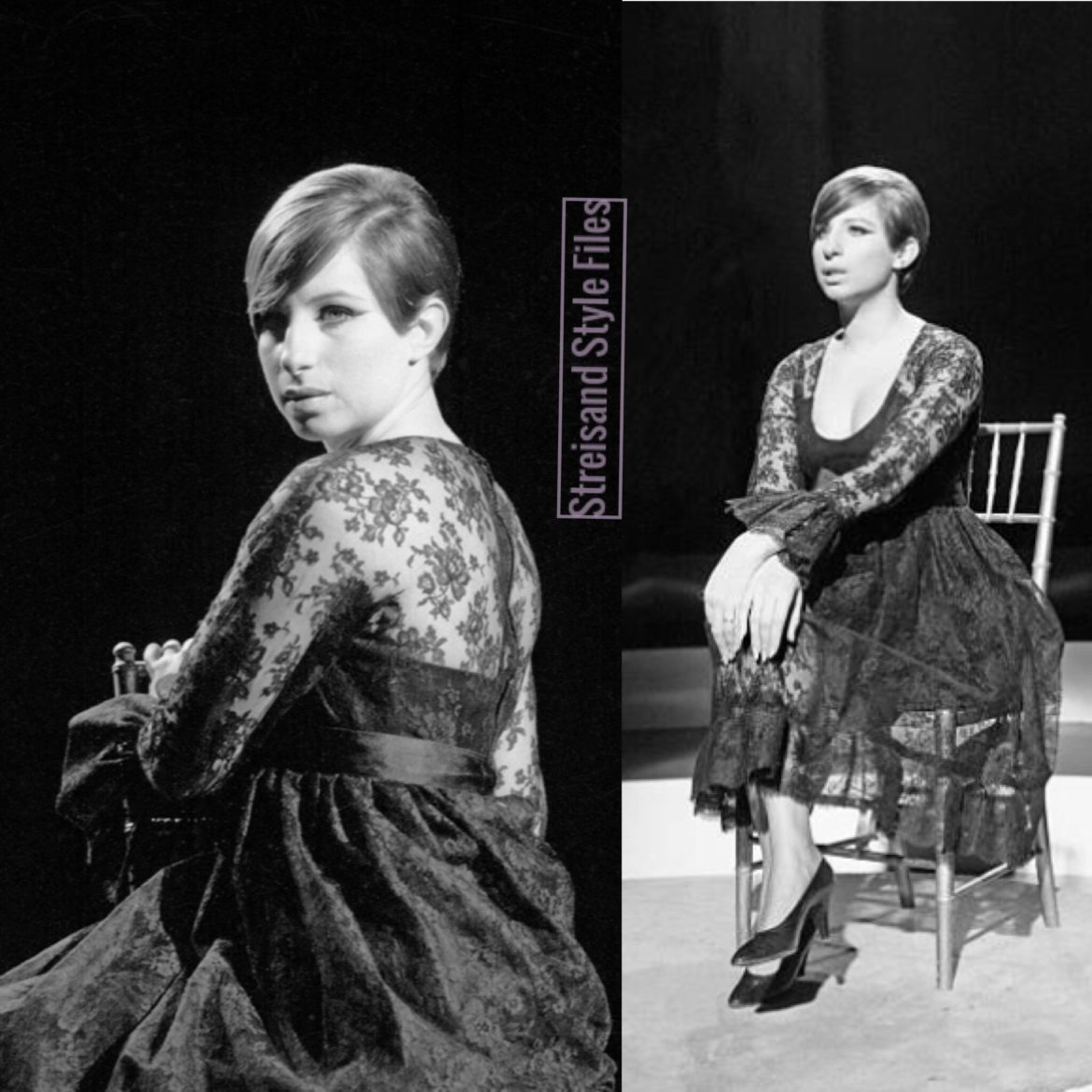 In Couture Dior For Color Me Barbra Advance Photo Shoot