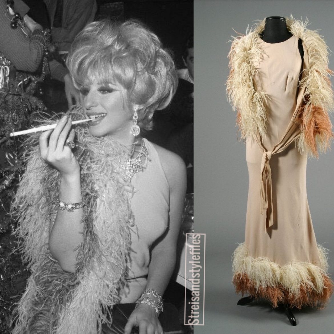 Barbra's 1964 Funny Girl Costume Party Outfit