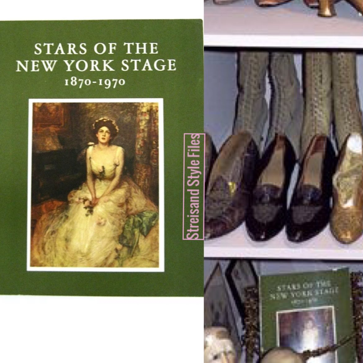 "Barbra's Roberto Gari Portrait In ""Stars Of The New York Stage"" Book"