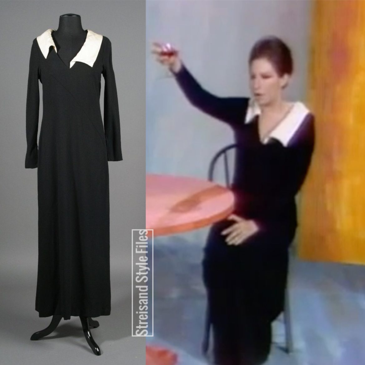 Color Me Barbra Non C'est Rein, Modigliani Black Dress