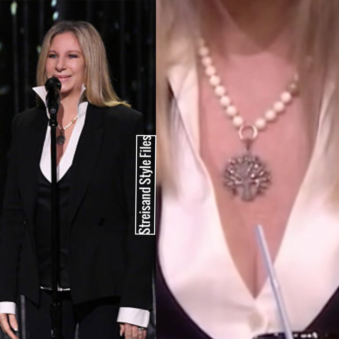 On The Tonight Show In Sheryl Lowe Jewelry