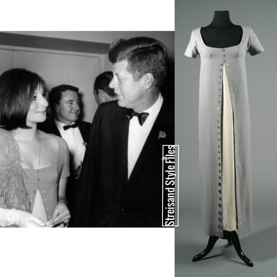 Meeting JFK In A Self Designed Regency Era Inspired Dress