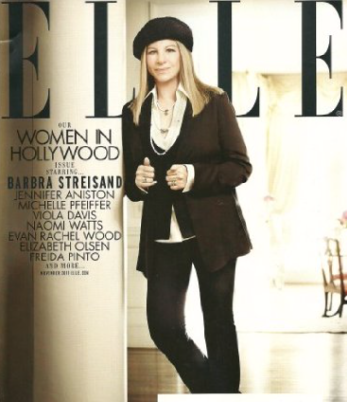 In Custom Mr. Alex For Elle Magazine, November 2011