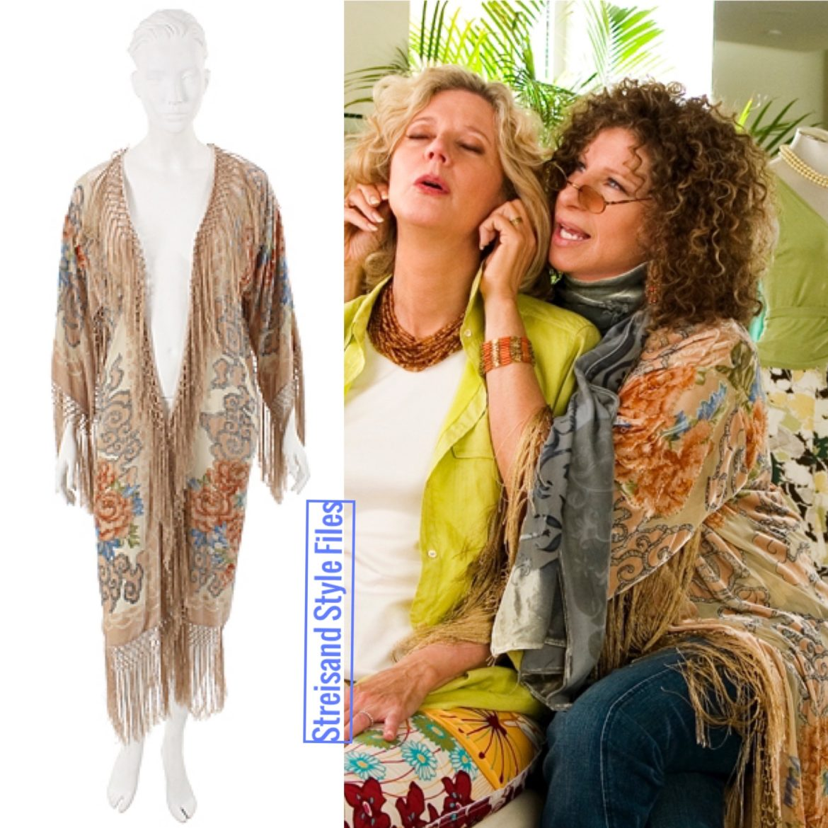 In A Vintage Piano Shawl Duster In Meet The Fockers