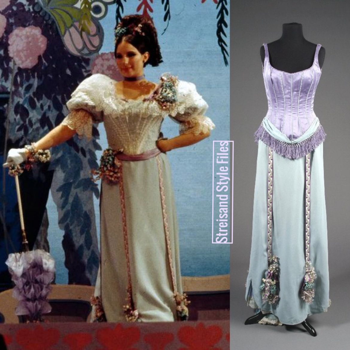 The Belle Of 14th Street Victorian Breakaway Gown