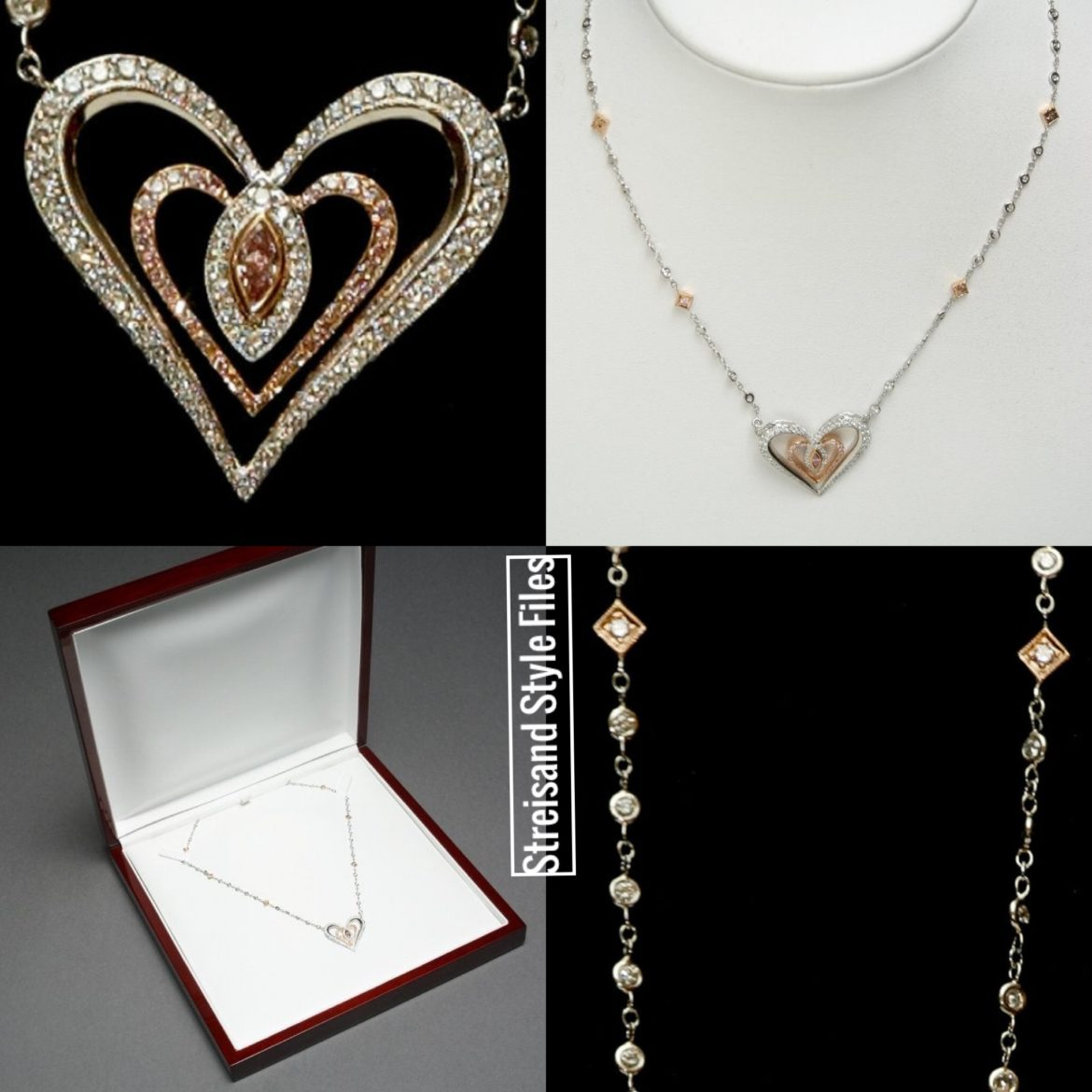 Barbra's Necklace Design For 2003's Women With Heart Auction