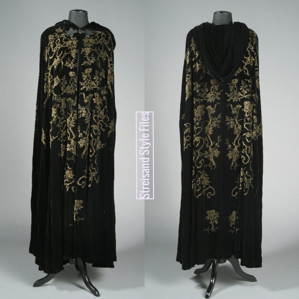 A Raffaela Schirmer Cape From Barbra's Personal Collection