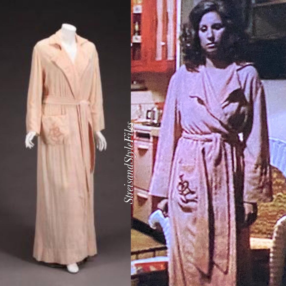 The Way We Were Chenille Robe
