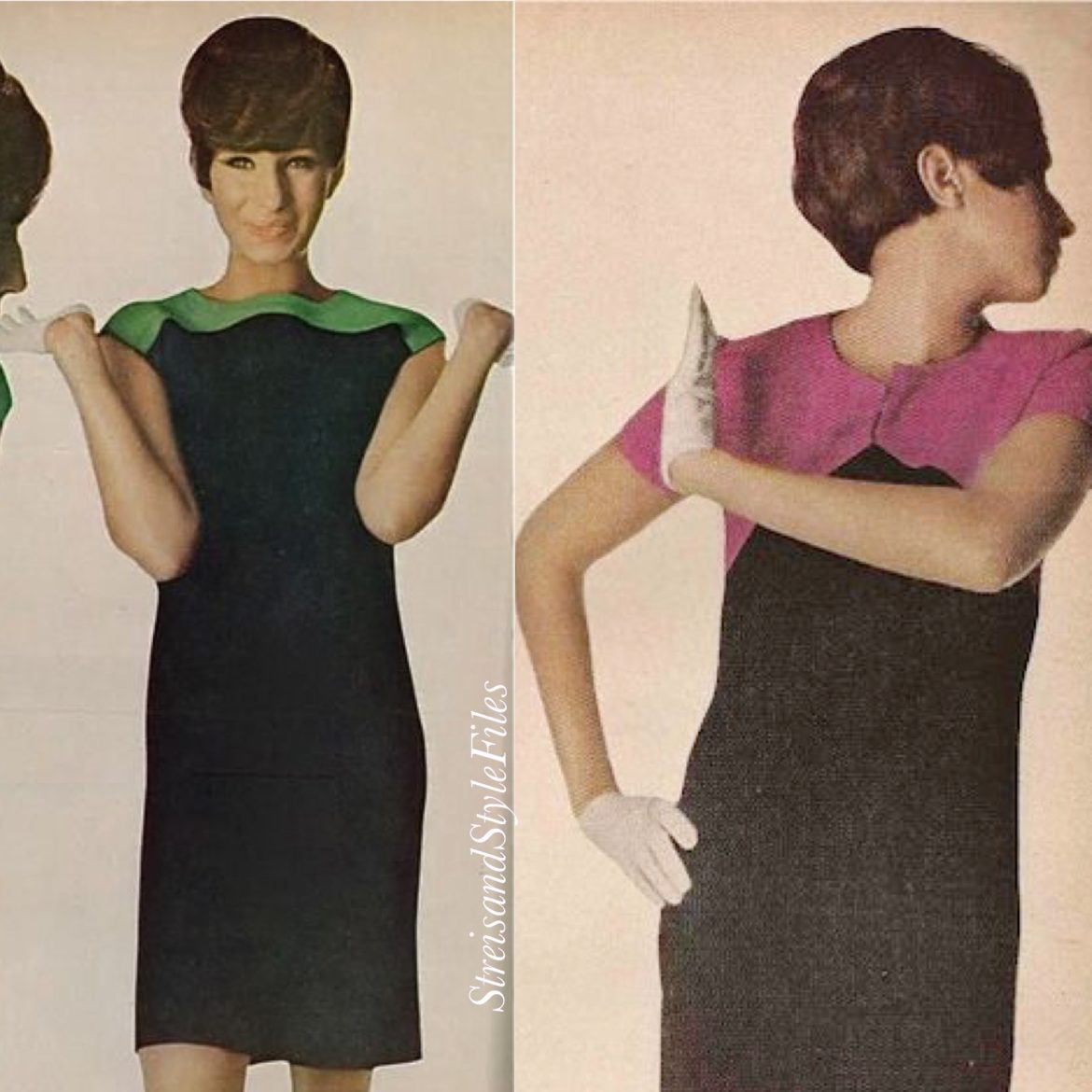 In Mod Kimberly Knitwear, August 1965 Vogue