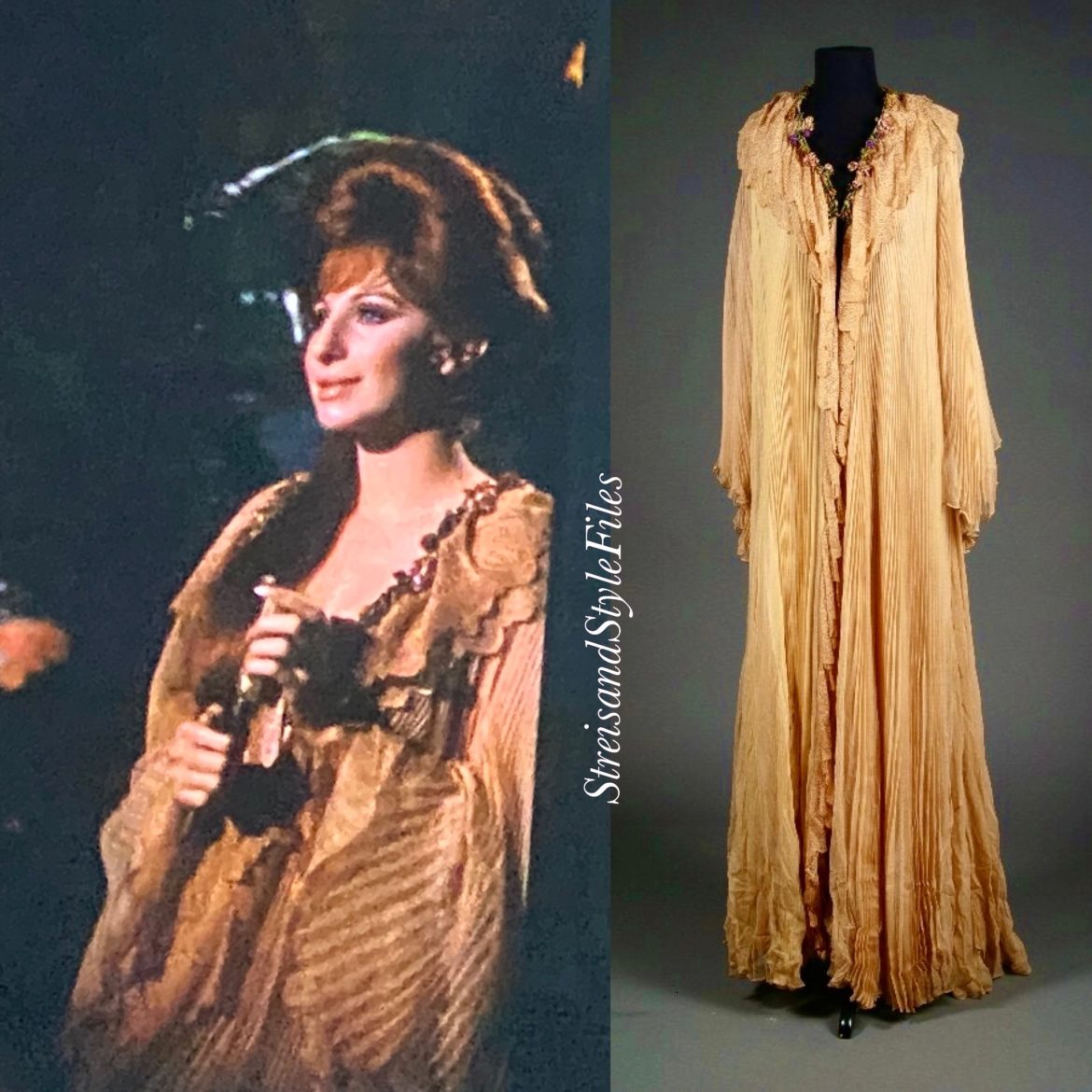 Hello, Dolly! Victorian Dressing Gown By Irene Sharaff