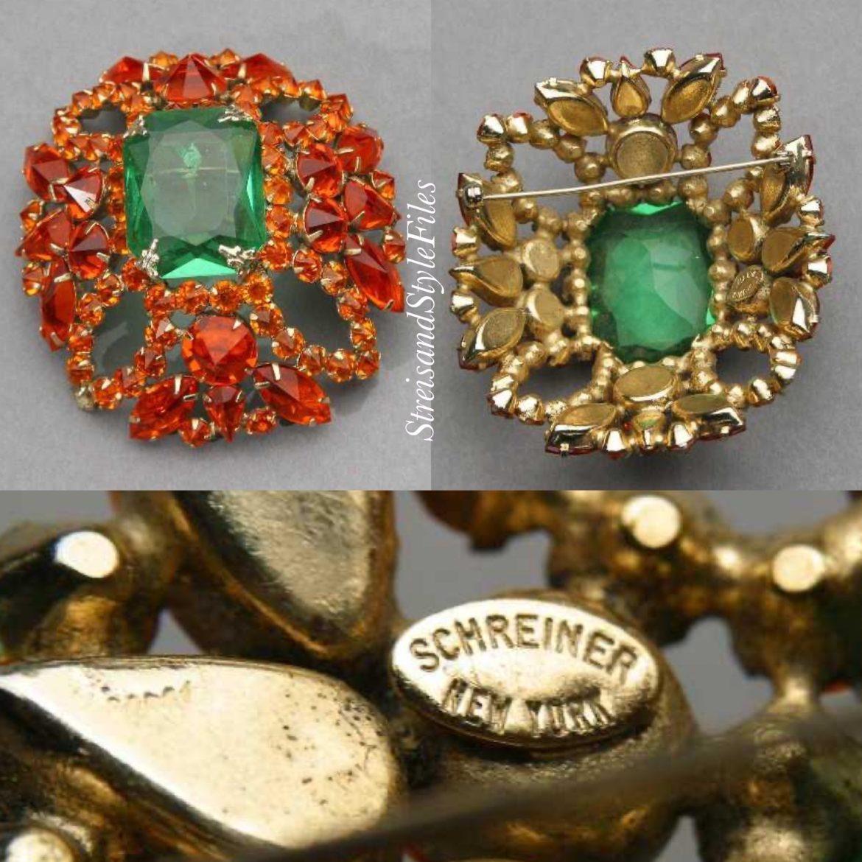 Schreiner Vintage Brooch