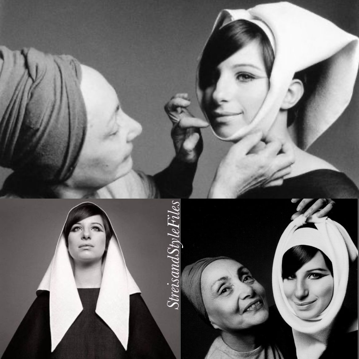 Wrapped by Grès in March 1966 Vogue