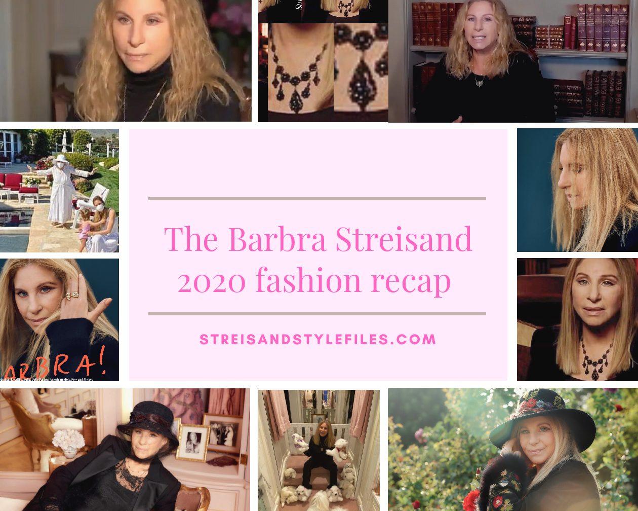 The Barbra Streisand 2020 fashion recap