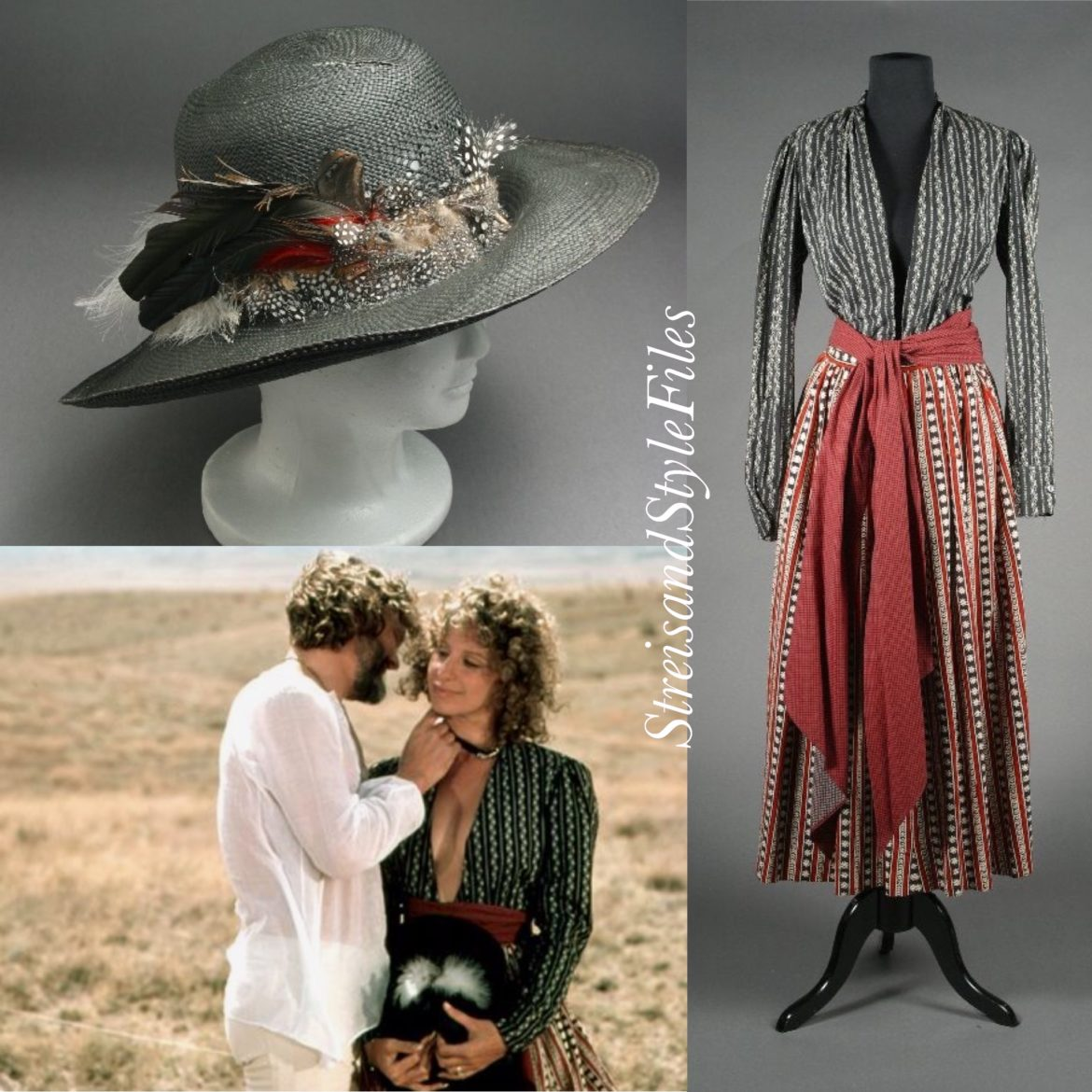 A Star is Born boho costume designed by Barbra Streisand