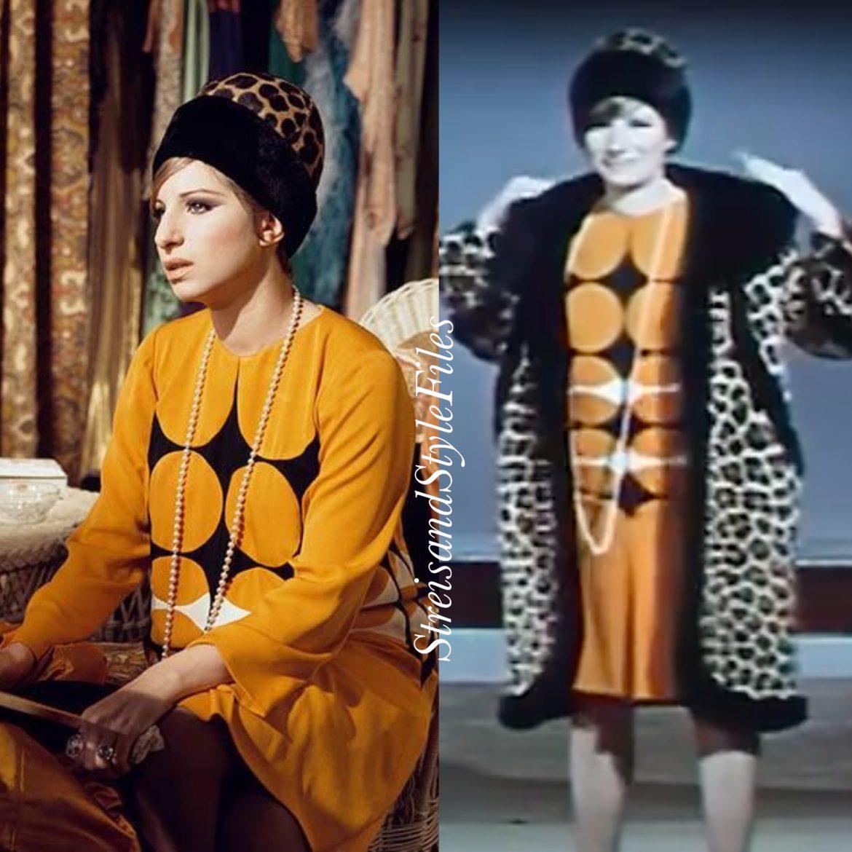 Funny Girl 1920's geometric shift dress by Irene Sharaff
