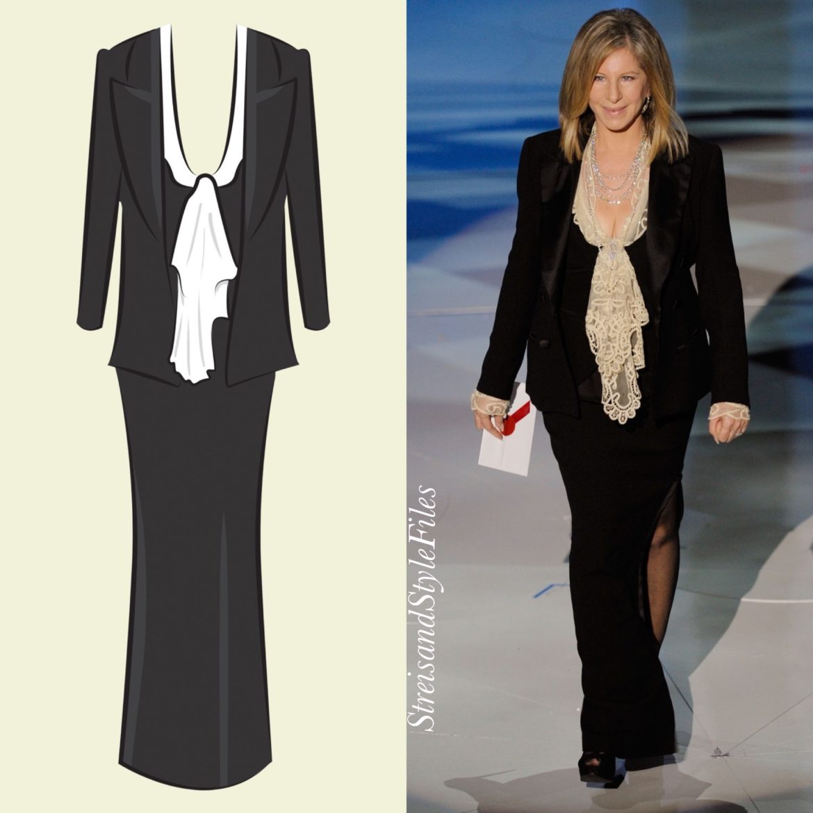 2010 Academy Awards in a haute couture tuxedo designed in collaboration with Randolph Duke