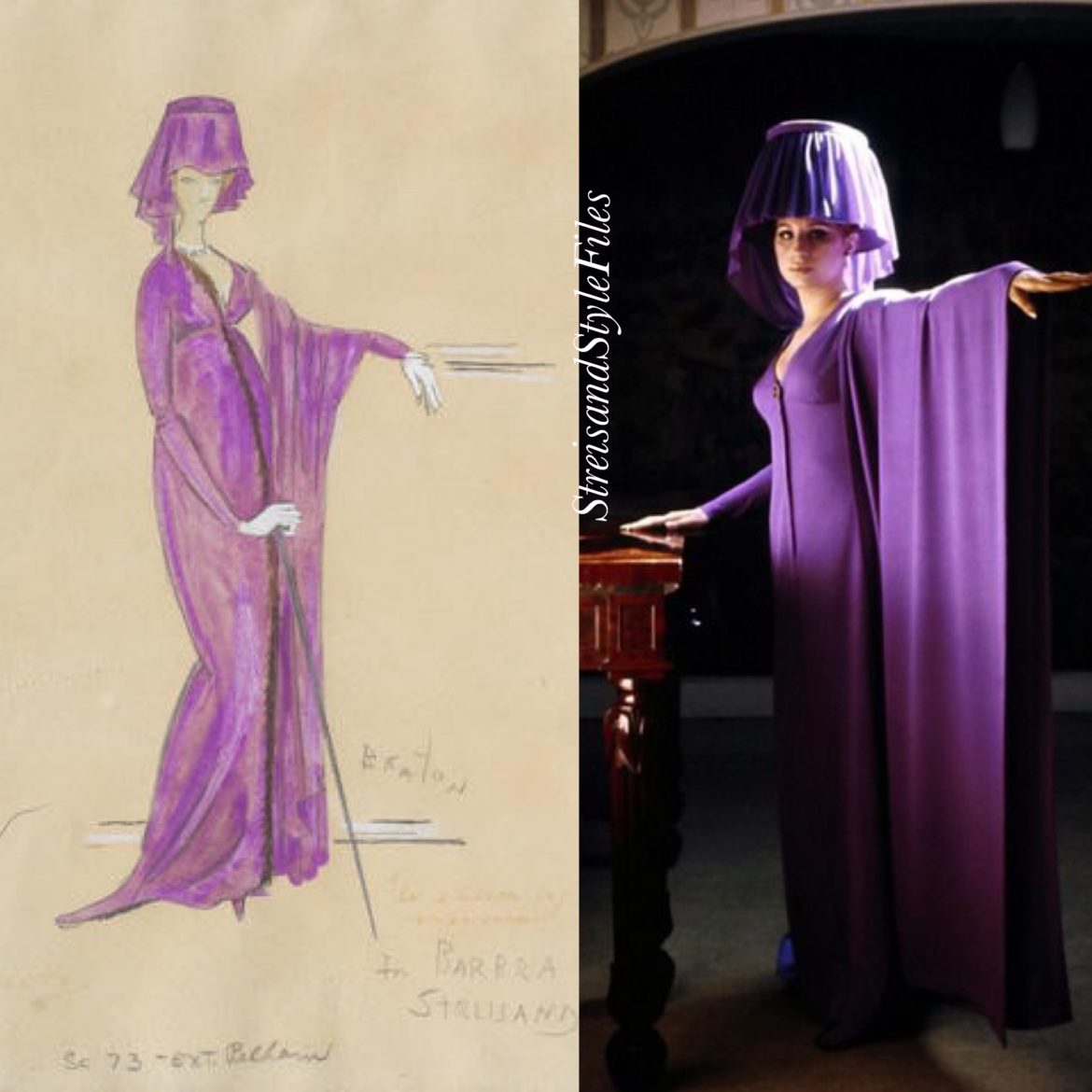 On a Clear Day You Can See Forever scene 73 costume by Cecil Beaton