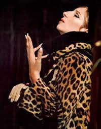 Funny Girl's iconic leopard coat costume by Irene Sharaff